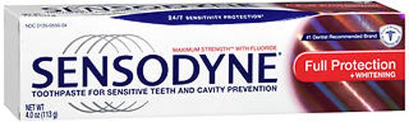 Sensodyne Full Protection Plus Whitening Toothpaste - 4 oz