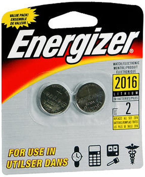 Energizer Watch/Electronic Batteries Size 2016 - 2pk
