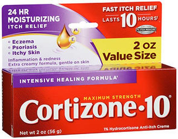 Cortizone-10 Creme Intensive Healing Formula - 2 oz