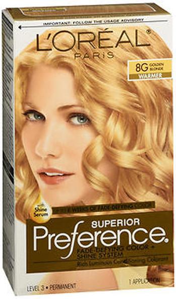 L'Oreal Superior Preference - 8G Golden Blonde (Warmer)