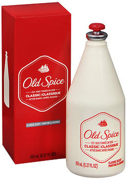 Old Spice After Shave Classic Scent - 6.375 oz