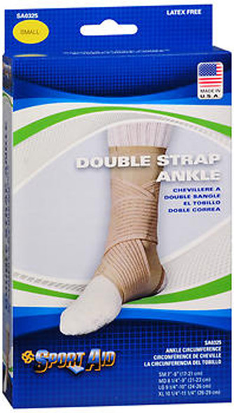 Sport Aid Double Strap Ankle Support SM - 1 ea.