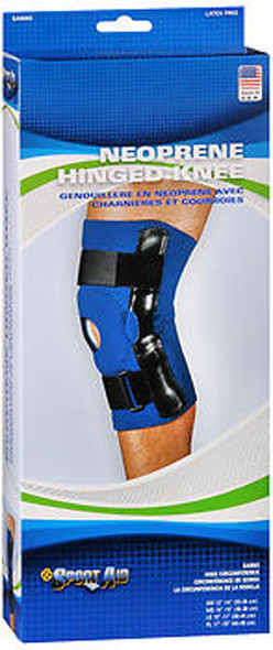 Sport Aid Neoprene Hinged Knee SM - 1 ea.