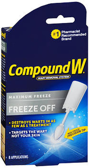 Compound W Freeze Off Wart Removal System - 8 ct