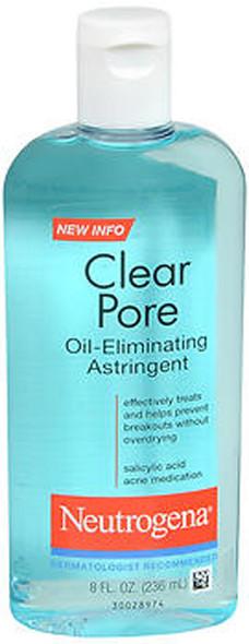 Neutrogena Clear Pore Oil-Eliminating Astringent - 8 oz