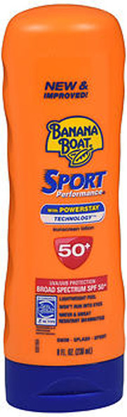 Banana Boat Sport Performance Sunblock Lotion SPF 50 - 8 oz