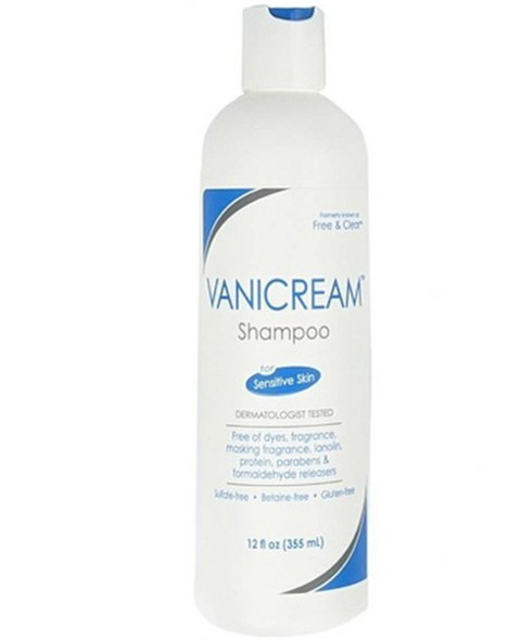 Free & Clear Shampoo, Sensitive Skin - 12 oz