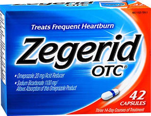 Zegerid OTC Acid Reducer Capsules - 42 ea.