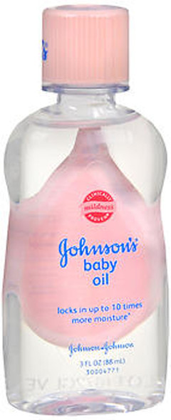 Johnson & Johnson Baby Oil - 3 oz