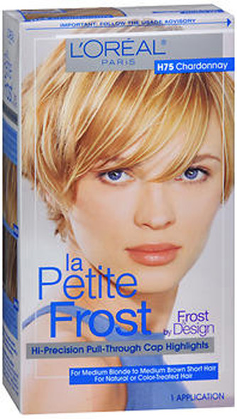 L'Oreal La Petite Frost Hi-Precision Pull-Through Cap Highlights H75 Chardonnay