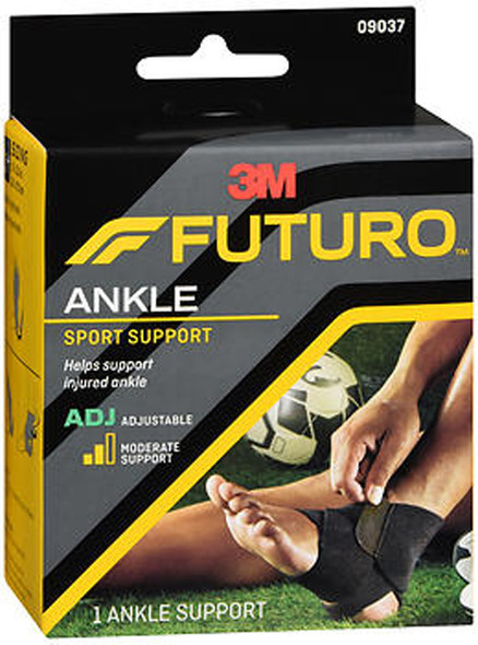 Futuro Sport Adjustable Ankle Support Adjust To Fit