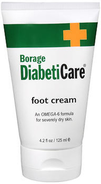 Borage DiabetiCare Foot Cream - 4.2 oz