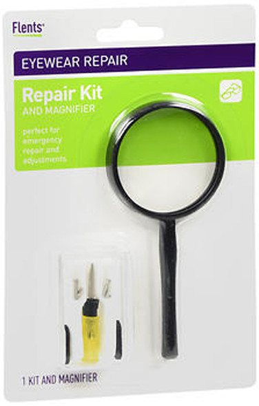 Flents Eyeglass Repair Kit and Magnifier - 1 Kit