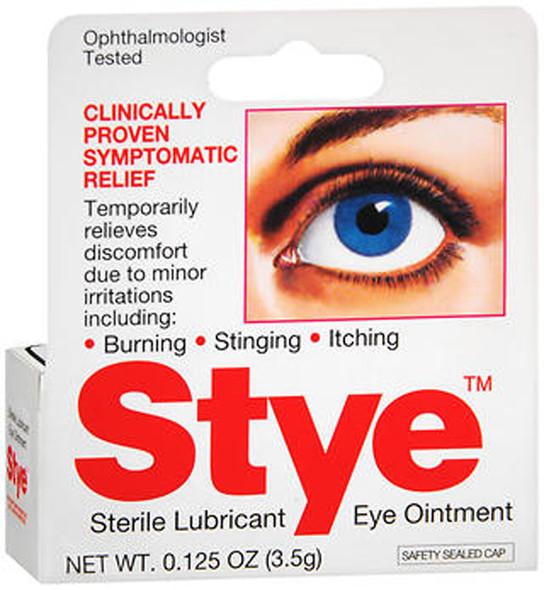 Stye Sterile Lubricant Eye Ointment - 0.125