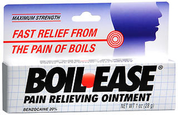 Boil-Ease Pain Relieving Ointment Maximum Strength - 1 oz