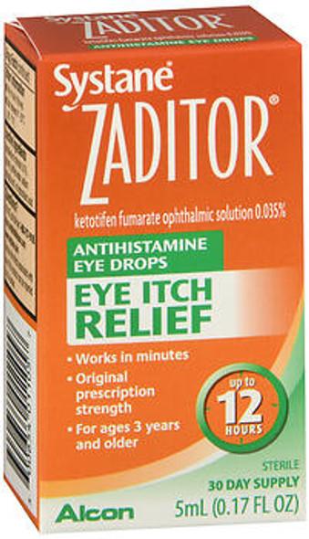 Zaditor Eye Itch Relief Antihistamine Eye Drops - 0.17 fl oz