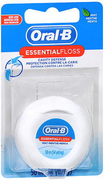 Oral-B EssentialFloss Cavity Defense Dental Floss Mint - 55 yds.