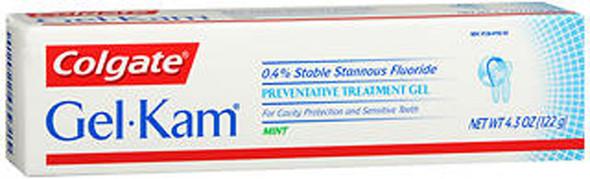 Gel-Kam Fluoride Preventative Treatment Gel Mint - 4.3 oz
