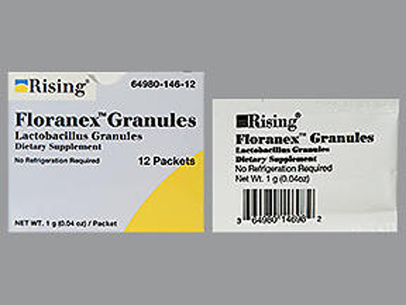 Floranex Lactobacillus Granules - 12 packets