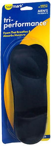 Sunmark Tri-Performance Foam Men's Sizes 8-12 Men's - Pair