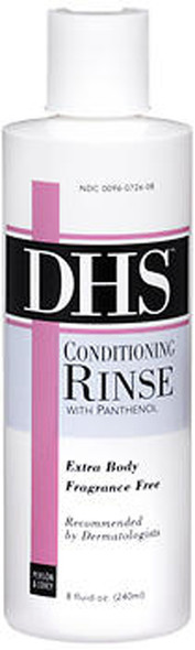 DHS Conditioning Rinse Fragrance Free Extra Body - 8 oz