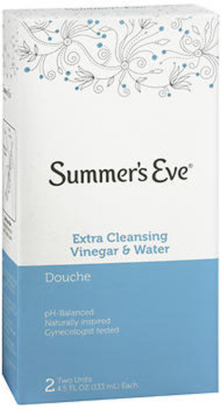 Summer's Eve Extra Cleansing Vinegar & Water Douche - 9 oz