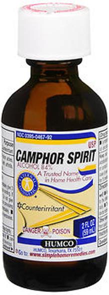 Humco Camphor Spirit USP - 2oz