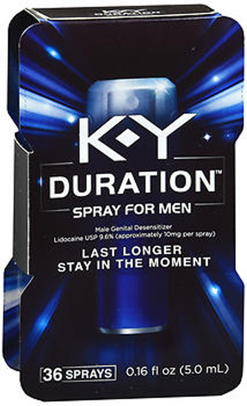 K-Y Duration Spray for Men - 36 Sprays