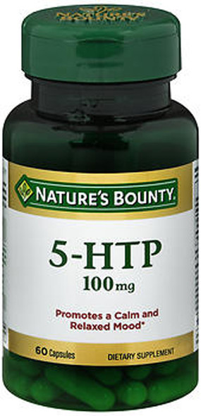 Nature's Bounty 5-HTP 100 mg Dietary Supplement Capsules - 60 ct