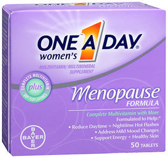 One-A-Day Women's Menopause Formula Multivitamin/Multimineral Tablets - 50 ct
