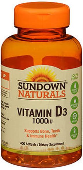 Sundown Naturals Vitamin D3 1000 IU - 400 Softgels