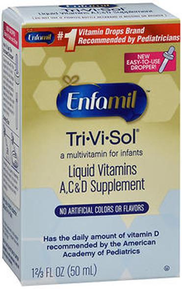 Enfamil Tri-Vi-Sol Supplement Drops for Infants - 1.66 oz