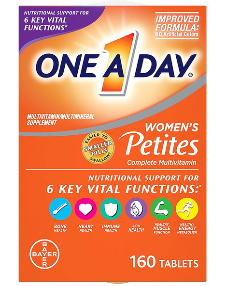 One A Day Women's Petites Multivitamin/Multimineral Supplement - 160 Tablet