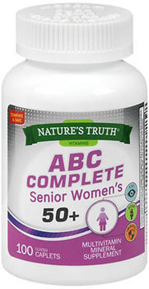 Nature's Truth ABC Complete Senior Women's 50+ - 100 Coated Caplets
