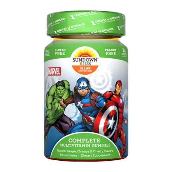 Marvel Avengers Multivitamin Gummies Assorted Flavors - 60 ct