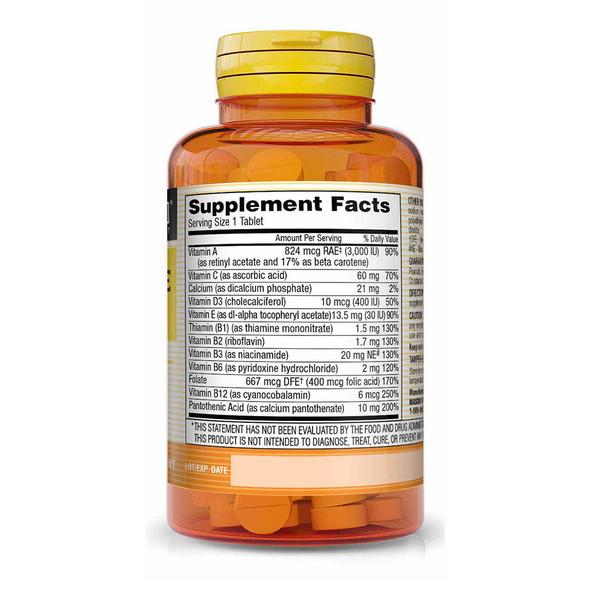 Mason Natural Daily Multiple Vitamin - 100 Tablets