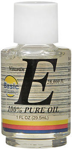 Basic Vitamins Vitamin E Oil 28,000 IU - 1 oz