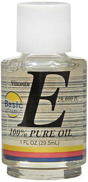Basic Vitamins Vitamin E Oil 28,000 IU - 1 oz