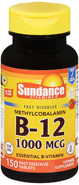 Sundance B-12 1000 mcg Fast Dissolve - 150 Tablets