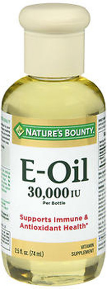 Nature's Bounty Vitamin E Oil - 2.5 fl oz