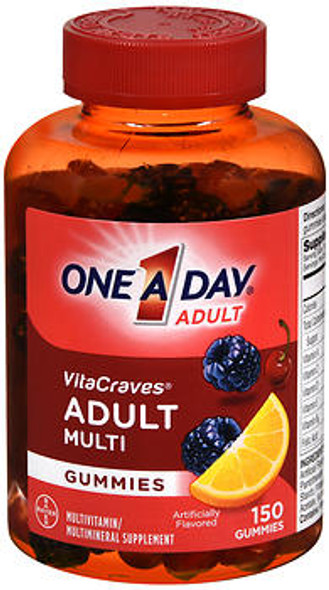 One-A-Day VitaCraves Adult Multi Gummies - 150 ct