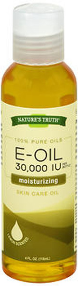 Nature's Truth E-Oil 30,000 IU Skin Care Oil Lemon Scented - 4 oz