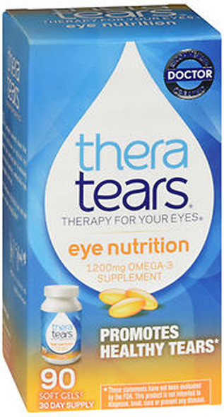 TheraTears Eye Nutrition  - 90 Easy to Swallow Capsules