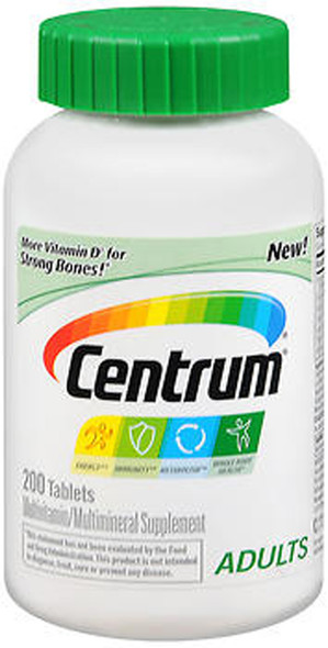 Centrum Adults Multivitamin/Multimineral Tablets - 200 ct