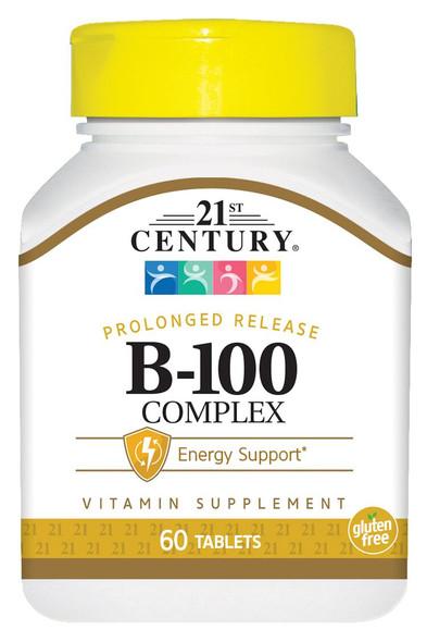 21st Century Complex B-100 Prolonged Release - 60 Caplets