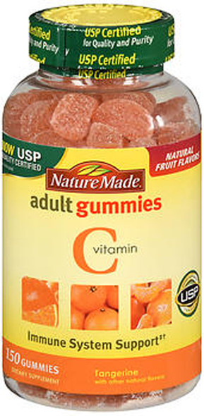 Nature Made Vitamin C Adult Gummies Tangerine - 150 ct