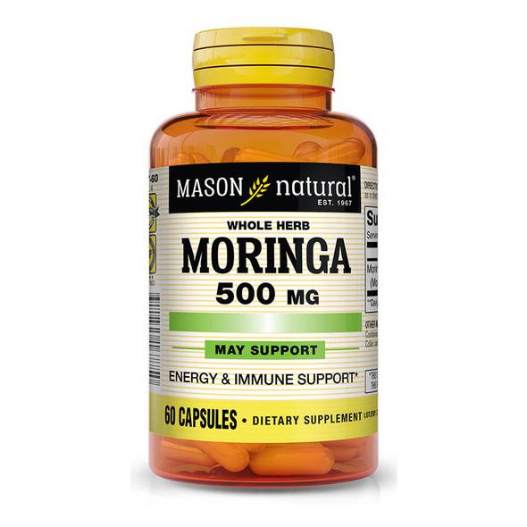 Mason Natural Moringa 500 mg Capsules - 60 ct