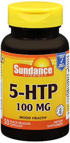 Sundance Vitamins 5-HTP 100 mg - 50 Capsules