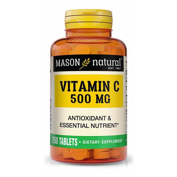 Mason Natural Vitamin C 500 mg - 250 Tablets