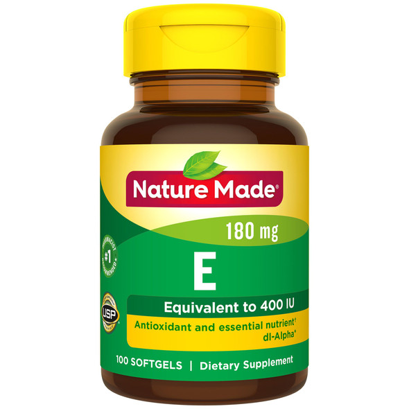 Nature Made dl-Alpha Vitamin E 400 IU Softgels - 100 ct